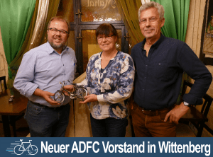 Neuer ADFC Vorstand in Wittenberg