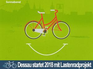 Der ADFC Dessau startet mit Lastenradprojekt ins neue Jahr