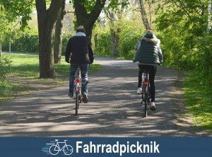 Fahrradpicknick in Magdeburg
