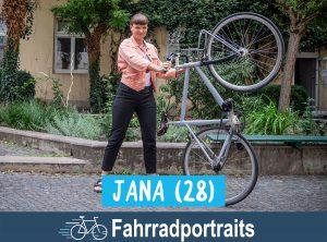 Fahrradportrait: Jana (28)