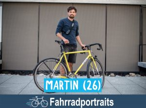 Fahrradportrait: Martin (26)