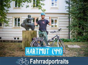 Fahrradportrait: Hartmut (44)