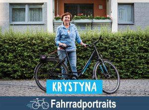 Fahrradportrait: Krystyna