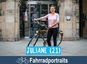 Fahrradportrait: Juliane (21)