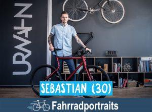 Fahrradportrait: Sebastian (30)