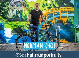 Fahrradportrait: Norman
