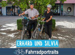 Fahrradportrait: Erhard und Silvia