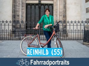 Fahrradportrait: Reinhild (55)