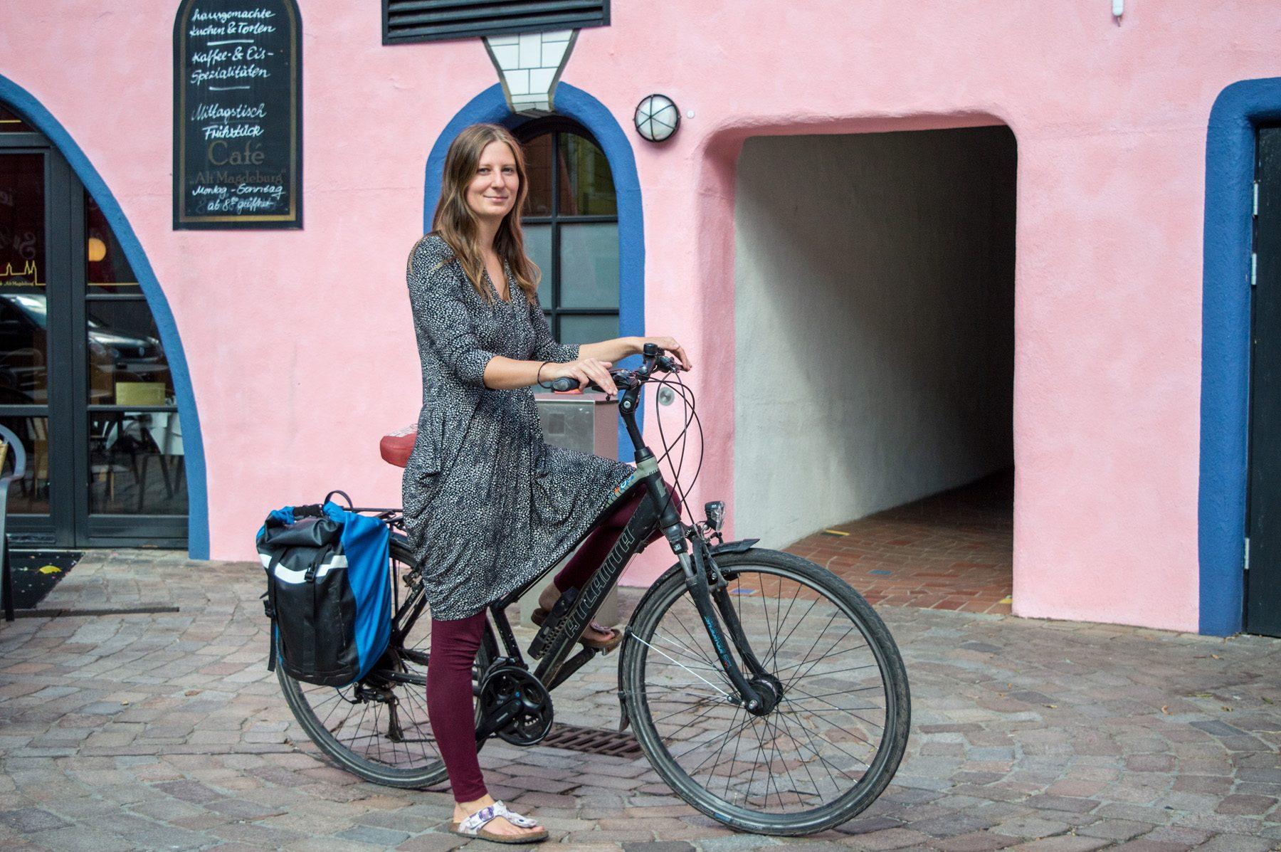 Fahrradportrait Madeleine 25 Fahrradstadt Magazin